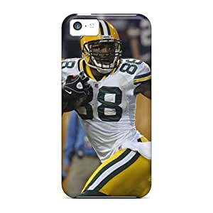 YOXIGKL Iphone 5c Well-designed Hard Case Cover Green Bay Packers Protector