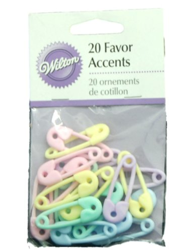 WILTON Cake Decorating and Party Supplies 1103-42 ***MINI SAFETY PINS M