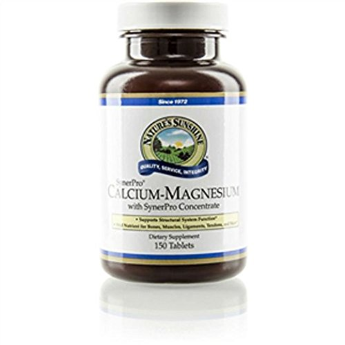 Nature's Sunshine Calcium-magnesium, Synerpro® 150 Tablets