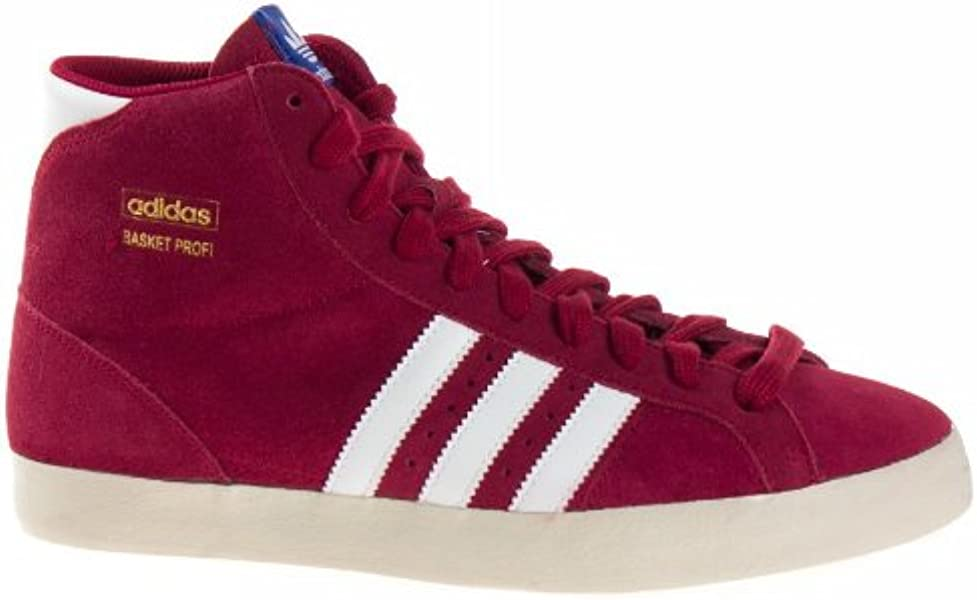 meilleure sélection c3066 2b664 Adidas BASKET PROFI-42 Q23332-42 Rouge: Amazon.co.uk: Shoes ...
