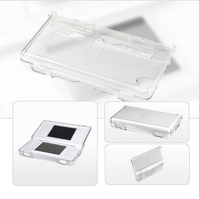 - Nintendo Ds Lite Clear Crystal Hard Case NDS Case