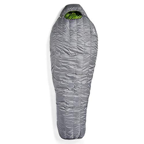 EMS Mountain Light 20 Sleeping Bag, Regular Pewter/Chive LZIP