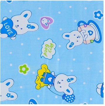 ANQIWA Baby & Toddler Waterproof Mattress Bed Protector Baby Changing Pad Diaper Changing Mat for Cribs,stroller, Cradle & outdoor (Extra Large, Blue) by ANQIWA