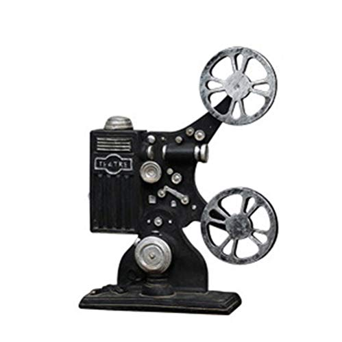 Achang-Craft Creative Retro Projector Model Crafts Gift Resin Material Personality Desktop Ornaments Living Room Bedroom Industrial Wind Chic Decorations