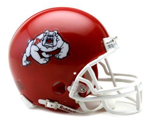 NCAA Fresno State Bulldogs Replica Mini Football Helmet