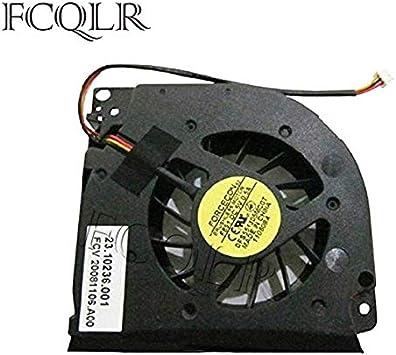 FCQLR Ventilador de la CPU del Ordenador portátil para Acer Aspire 5730ZG 5930 5930G 7000 7100 7110 9300 9400 CPU enfriamiento Ventilador: Amazon.es: Electrónica