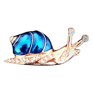 Bledyi Ladies Creative Tropical Fish Brooch Girl Personality Animal Brooch Metal Brooch Suitable for Work/Shopping