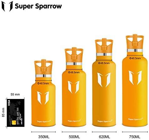 Super Sparrow Coperchio per Bottiglie per bocca standard