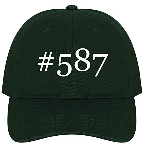 (The Town Butler #587 - A Nice Comfortable Adjustable Hashtag Dad Hat Cap, Forest)