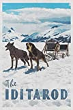 The Iditarod: Trail Sled Dog Race Alaska 2020 Planner Calendar Daily Weekly Monthly Organizer