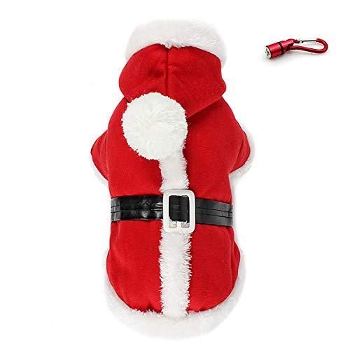 PETLESO Christmas Dog Coat - Puppy Dog