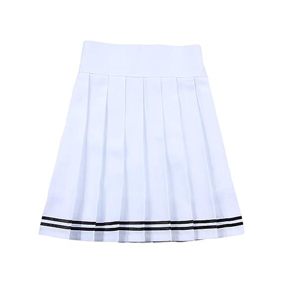 MEIHAOWEI Falda De Mujer Falda Plisada De Alta Temperatura Falda ...