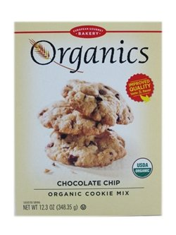 European Gourmet Bakery: Organics Chocolate Chip Cookie Mix (3 X 12.3 Oz)