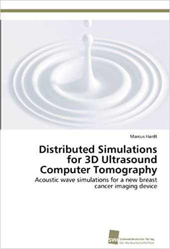 Distributed Simulations for 3D Ultrasound Computer Tomography: Acoustic wave simulations for a new breast cancer imaging device
