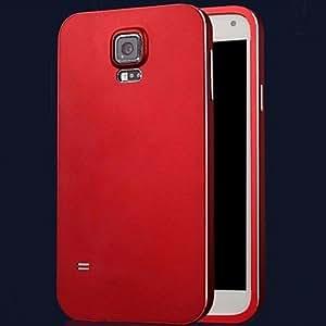 GX Teléfono Móvil Samsung - Contra Golpes - Diseño Especial - para Samsung S5 i9600 ( Negro/Rojo/Azul/Dorado/Plateado , Silicona/Metal ) , Black