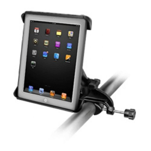 RAM MOUNTING SYSTEMS RAM Mount Tab-Tite iPad / HP Cradle Yoke Clamp Mount / RAM-B-121-TAB3U /