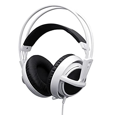 SteelSeries Siberia V2 Full-Size Gaming Headset - White (Certified Refurbished)