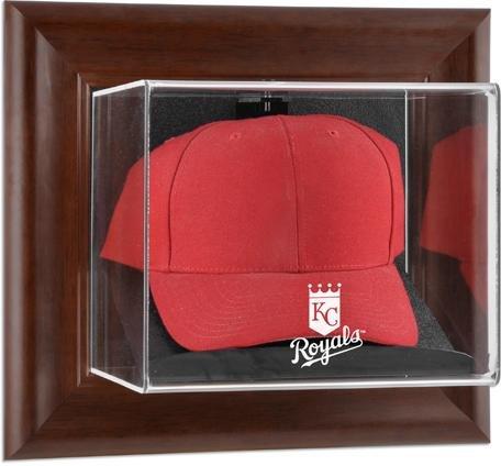 Mounted Memories Kansas City Royals Memorabilia - Kansas City Royals Framed Wall Mounted Logo Cap Display Case