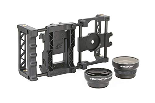Beastgrip Pro + Wide Angle and Fish Eye Lenses Bundle from Beastgrip