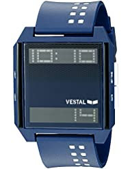 Vestal Unisex DIG038 Digichord Digital Display Quartz Blue Watch