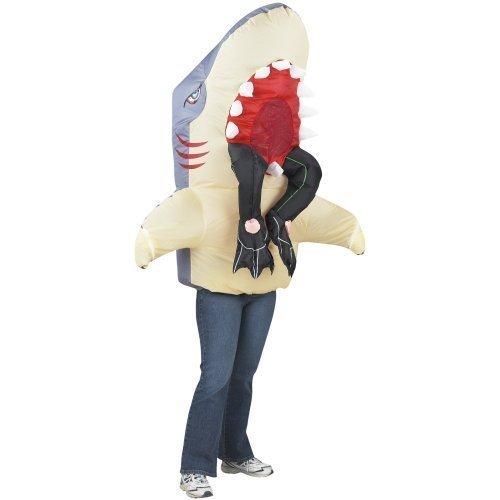Gemmy Shark W/Legs Costume