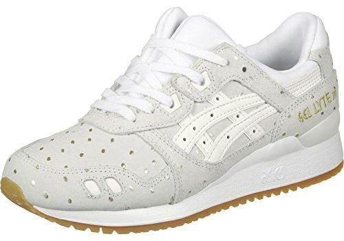 Asics Gel-lyte Iii - zapatos de entrenamiento de carrera en asfalto Mujer blanco