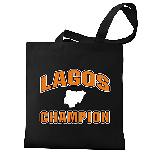 Bag Canvas Eddany champion Canvas Lagos champion Tote Eddany Lagos gPH4UBqU
