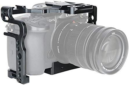 Update Version] NICEYRIG GH5S GH5 Cage Jaula para cámara de Fotos ...