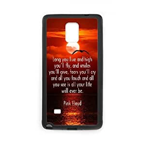 Pink Floyd Samsung Galaxy Note 4 Cell Phone Case Black yyfabd-136115