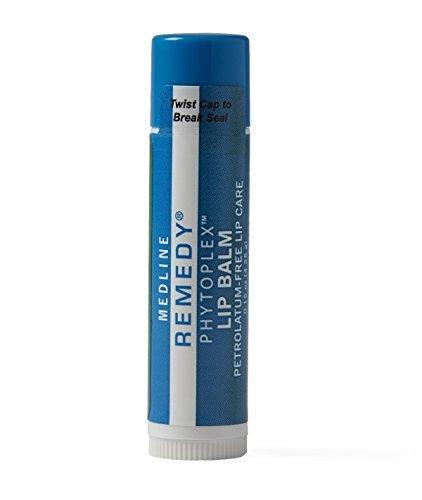 Medline Remedy Phytoplex Lip Balms, Moisturizer, oxygen-rich environments 0.15 oz (2 Pack)