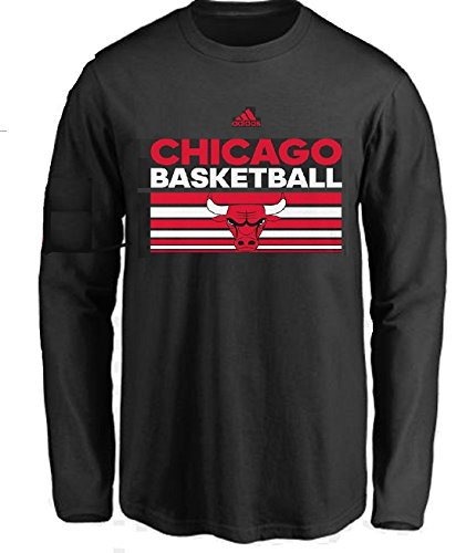 Outerstuff Chicago Bulls NBA Youth Born One Long Sleeve Shirt (Youth Medium 10/12) ()