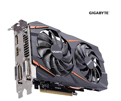 (2019 GIGABYTE GeForce GTX 1060 DirectX 12 GV-N1060WF2OC-3GD 3GB 192-Bit GDDR5 PCI Express 3.0 x16 ATX Video Card)