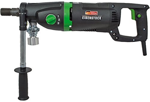 Handheld Dry Core Drill - CS Unitec ETN 162/3 P 3-Speed Hand Held Wet or Dry Concrete Core Drill for Holes up to 6-3/8