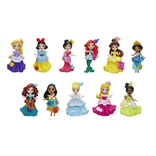 Disney Princess Little Kingdom All 11 Princesses is a cute toy for girls