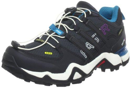 Adidas Terrex Fast R Gore-Tex Women's Trail Walking Shoes - 9 - Black