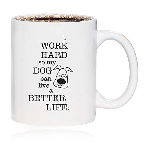 Funny Dog Coffee Mug Inspirational product image