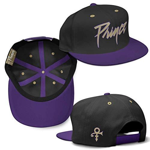 5.1 Marketing Prince Prince Logo Flatbrim Snapback Baseball ()