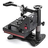 Mophorn Heat Presses Swing Away Heat Press Machines 12x10 Inch Daul Digital Heat Press Machine for T Shirts LCD Timer Rigid Steel Frame