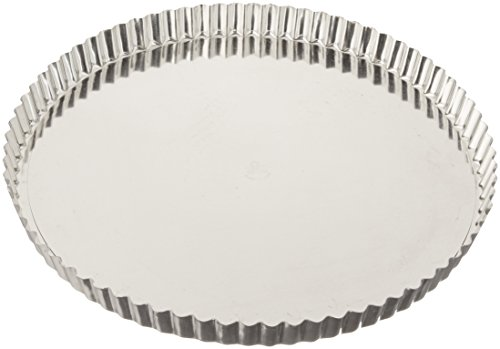 Matfer Bourgeat 341778 Fluted Tart Mold with Removable Bottom