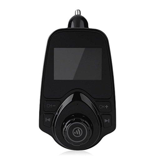T10 voiture mains libres Lecteur MP3 Bluetooth Transmetteur FM LCD avec lumière bleue 50%OFF