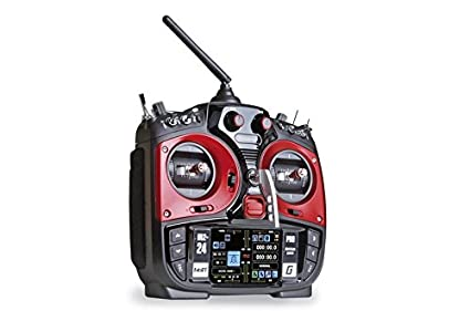 Amazon.com: Graupner MZ-24 Pro 12 Channel Remote Control Radio, Red/Black: Toys & Games