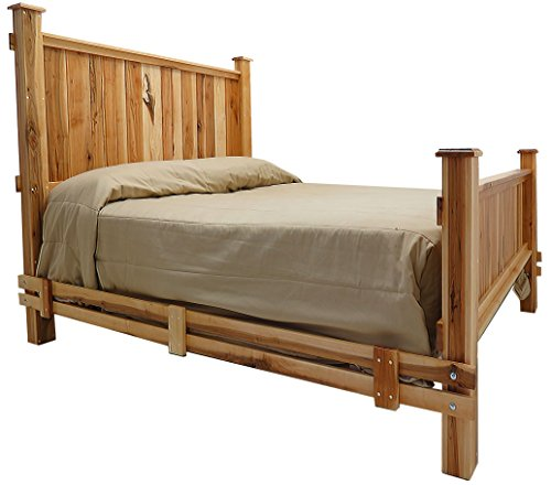 Mountain Woods Furniture Mossy Oak Nativ Living Mountain Maple Collection Bed, Queen