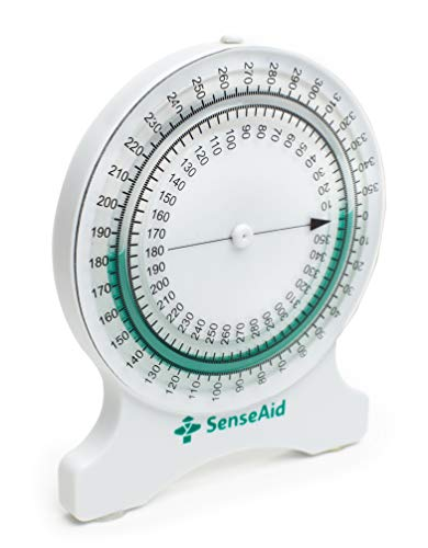 Inclinometer for Physical Therapy | No-Leak PT Inclinometer for Range of Motion (ROM) Measurements by SenseAid. for Students and ()