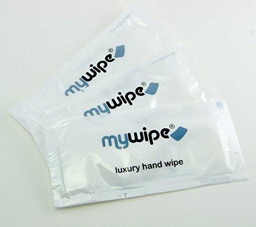 Toallitas húmedas y refrescantes de limón para manos, de MYWIPE, ideal para restaurantes (100 unidades): Amazon.es: Hogar