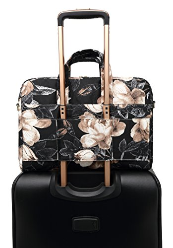 DACHEE Waterproof Laptop Shoulder Bag Shockproof 15.6 inch Sleeve Black Cactus