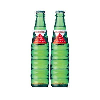 お得2ケース ウイルキンソンドライジンジャーエール瓶190ml×24×2