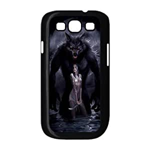 [QiongMai Phone Case] For Samsung Galaxy S3 -Wolf at Moon Night-IKAI0446390