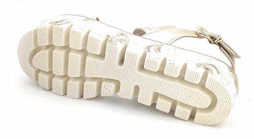 Gabor 65.581.62 - Sandalias de vestir para mujer Platino