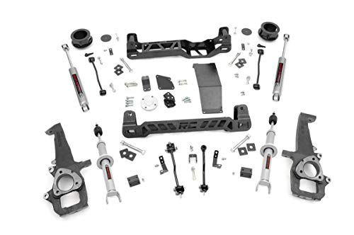 4 Inch Lift Kit With Shocks Struts For 12 18 Dodge Ram 1500 4wd 33323