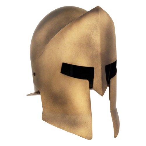 Spartan Chest Plate Costume (Armor Venue Spartan Helmet 300 Replica - Bronze Antiqued - One Size Armour)